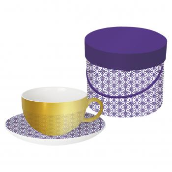 Reflecting Cup GB Ginza violet real gold