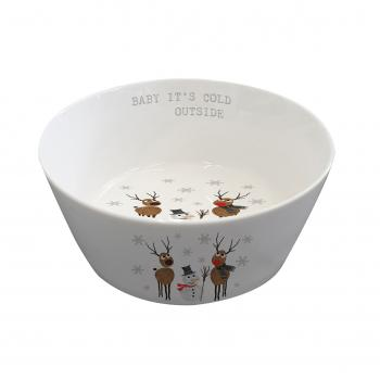 Cold Outside Trend Bowl