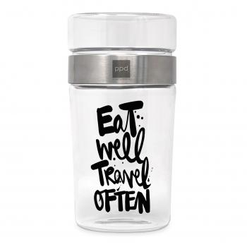 Snack2Go Glass Eat Well